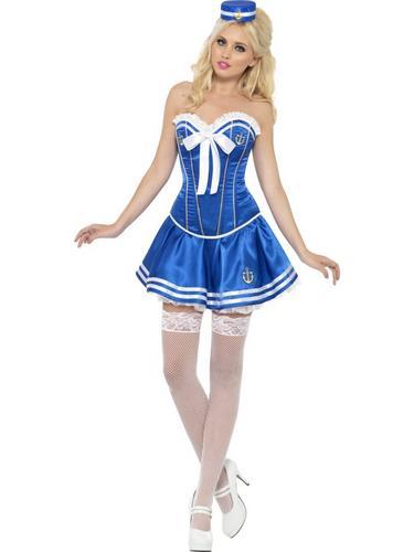 Fever Boutique Sailor Costume Thumbnail 1