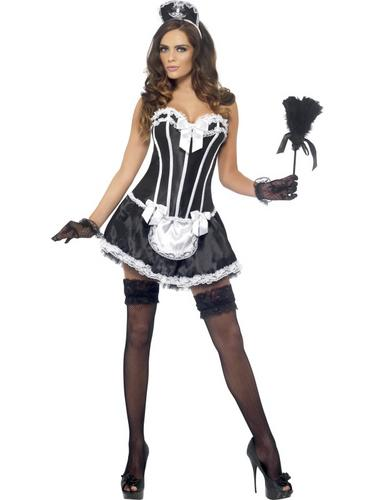 Fever French Maid Costume Thumbnail 1