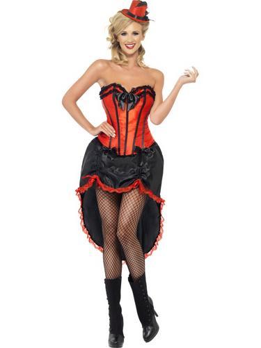 Burlesque Dancer Costume Thumbnail 1