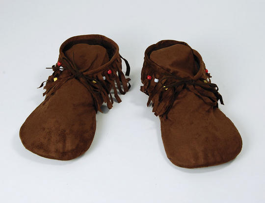 Hippy/Indian Moccasins. Ladys Thumbnail 1