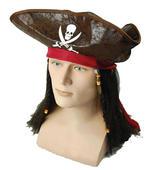 Pirate Caribbean Hat + Hair