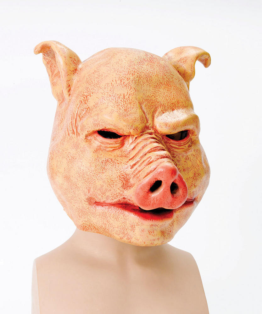 Horror Pig. Latex