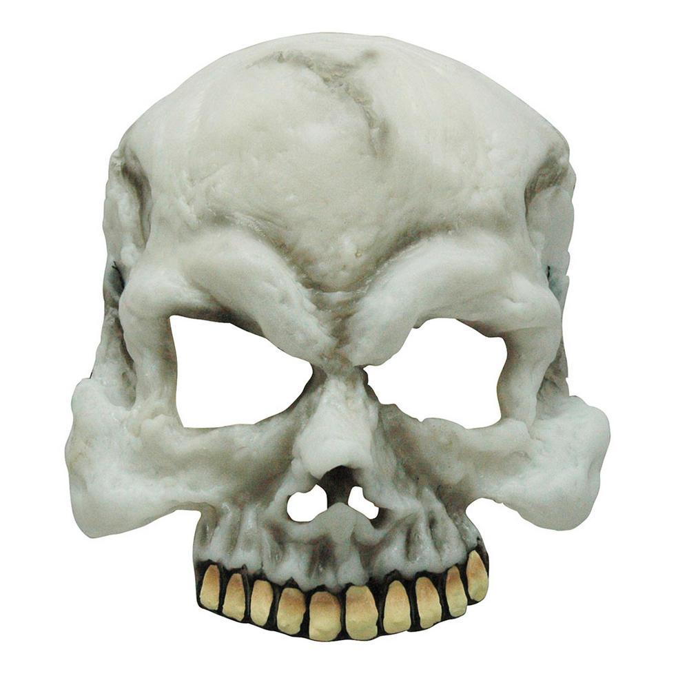 Skull Half Mask. GID