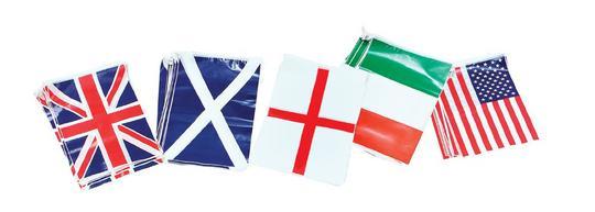 Bunting. Scotland 7m, 25 Flags Thumbnail 1