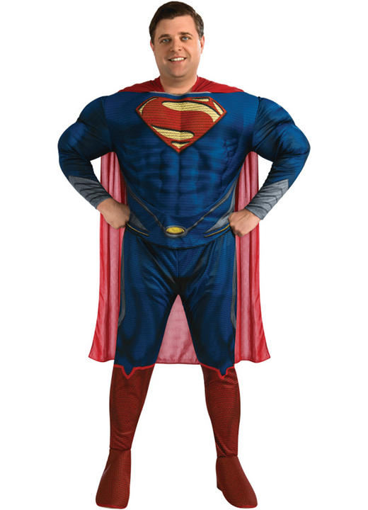 Deluxe Man of Steel Superman Plus size Thumbnail 1