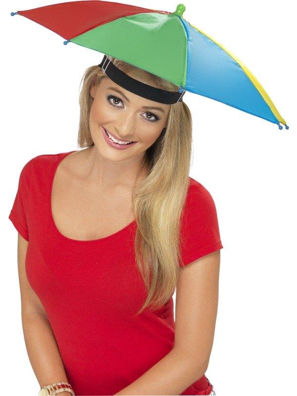 93c42ebf119 SALE! Umbrella   Brolly Hat Fishing   Golf Fancy Dress Costume Party ...
