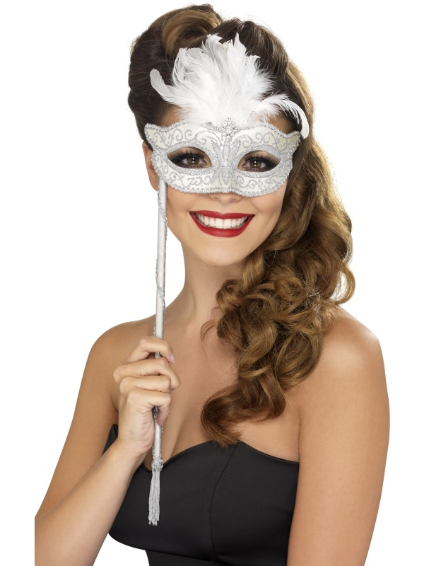 Adult Baroque Fantasy Eyemask Ladies Fancy Dress Costume Ball Party ...
