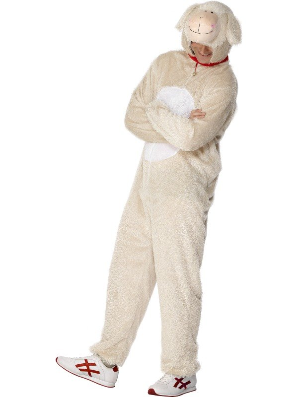 What, look Adult animal costume sheep sorry
