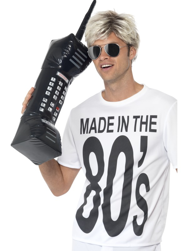 Inflatable Retro Mobile Phone  sc 1 st  Wonderland Party : funny 80s costume  - Germanpascual.Com