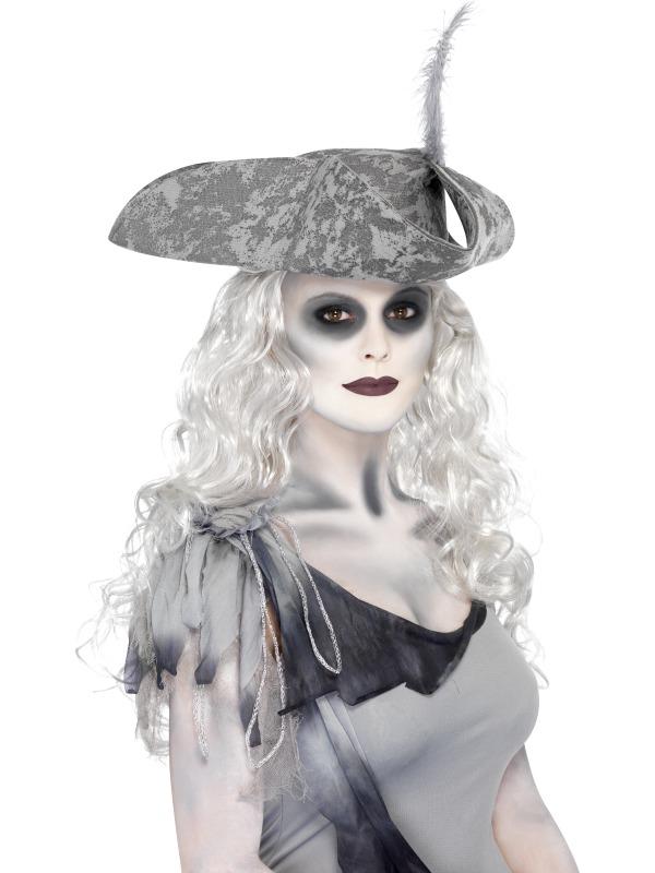 Ghost Ship Zombie Pirate Make Up Kit Halloween Fancy Dress Costume ...