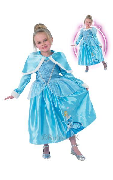 6c2b0144f729 SALE! Kids Disney Princess Cinderella Wonderland Girls Fancy Dress ...