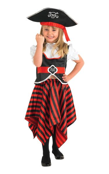 ea55bf60560 Girl Pirate Fancy Dress Costume