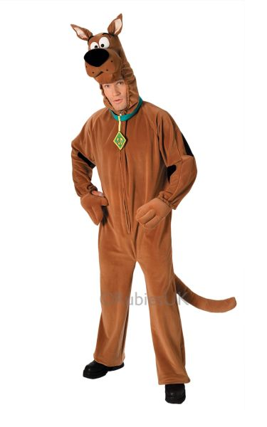 Deluxe ScoobyDoo Fancy Dress Costume