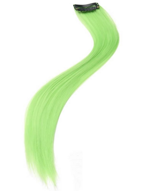 Hair Extensions Neon Green