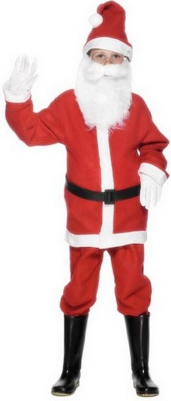 Boys Santa Fancy Dress Costume