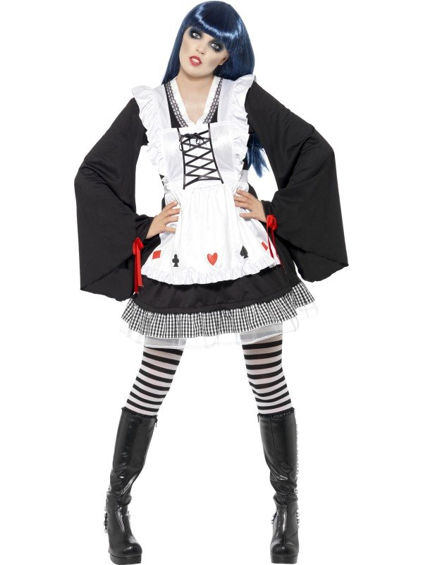 Gothic Alice Fancy Dress Costume