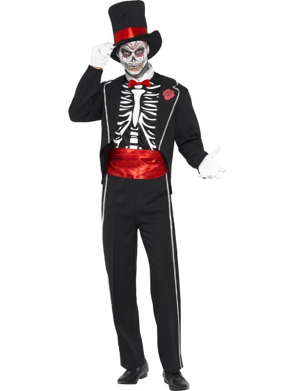 Day of the Dead Fancy Dress Costume