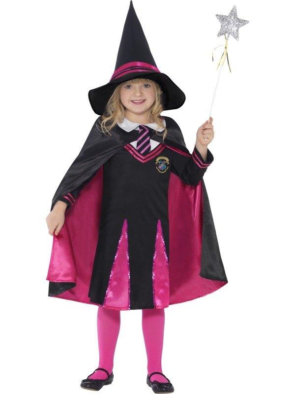 Witch School Girl Fancy Dress Costume