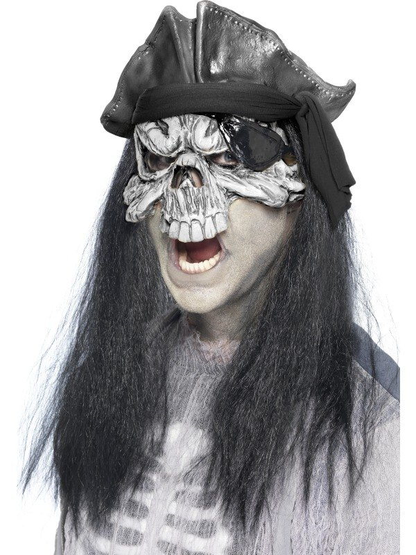 Haunted Swashbuckler Fancy Dress Mask