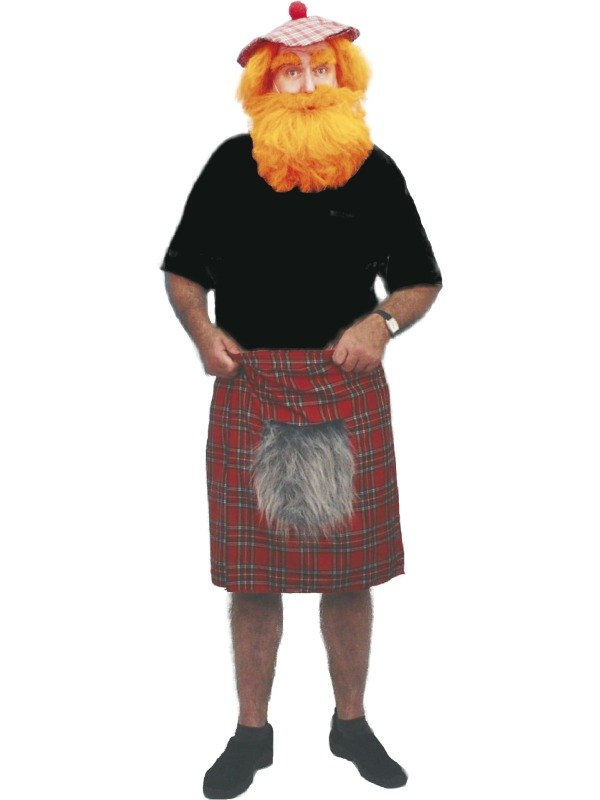 Tartan Kilt Fancy Dress Costume