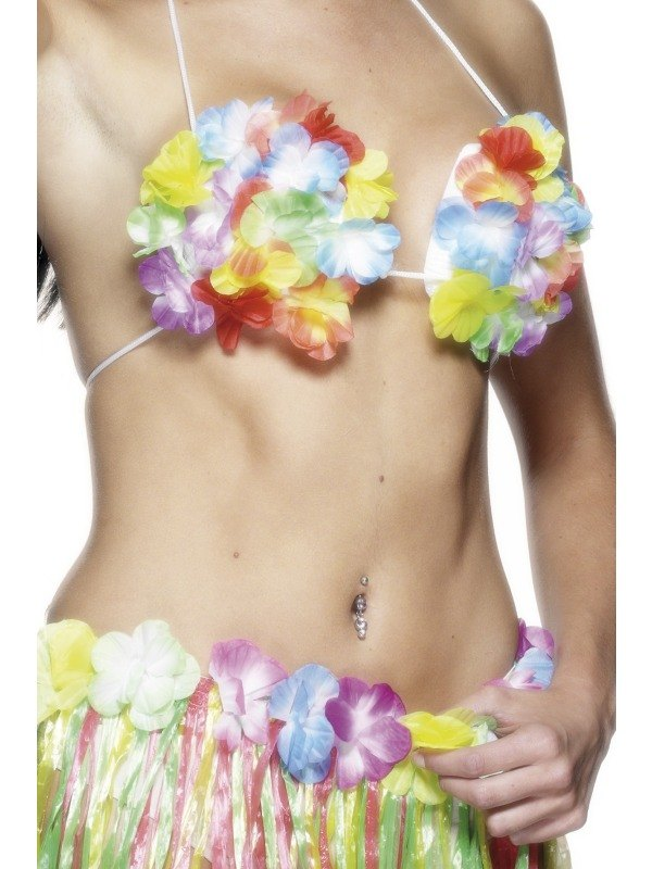 Hawaiian Flower Bra