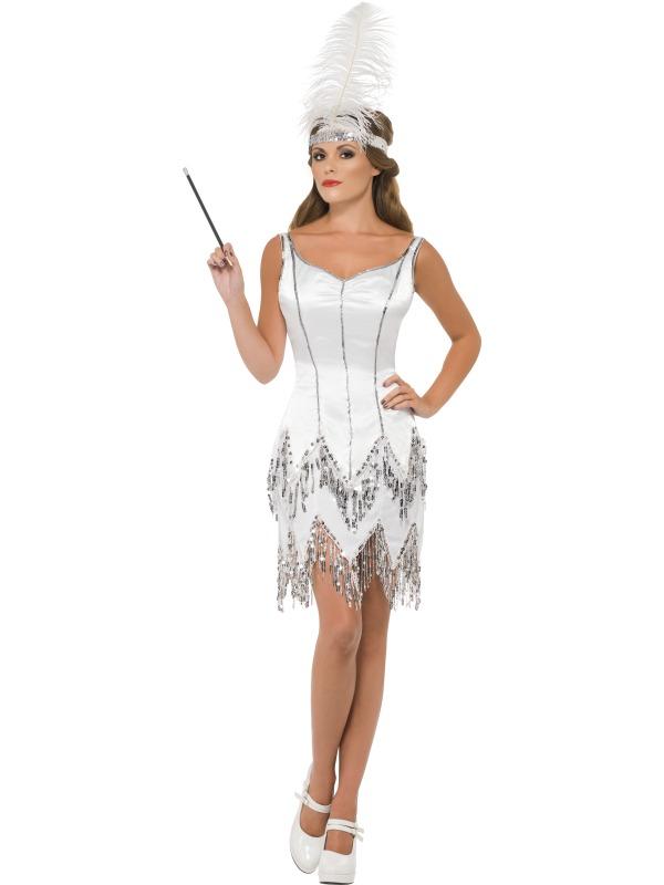 New Super Sexy 1920s Flapper Dazzle Ladies Fancy Dress Hen Party