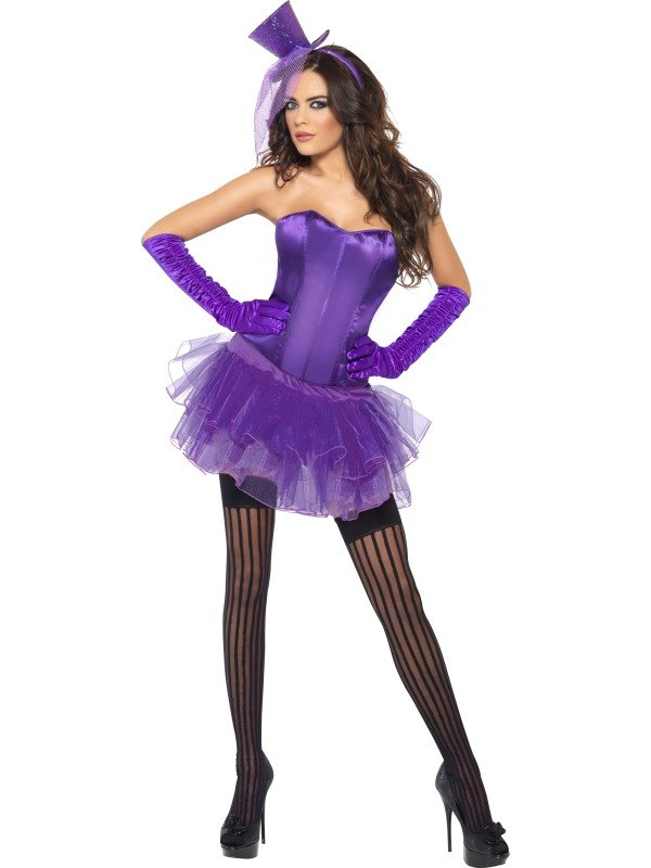 Burlesque Beauty Fancy Dress Costume