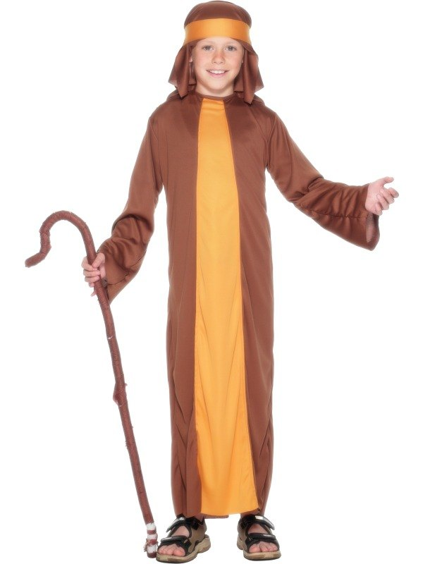 Boys Shepherd Fancy Dress Costume