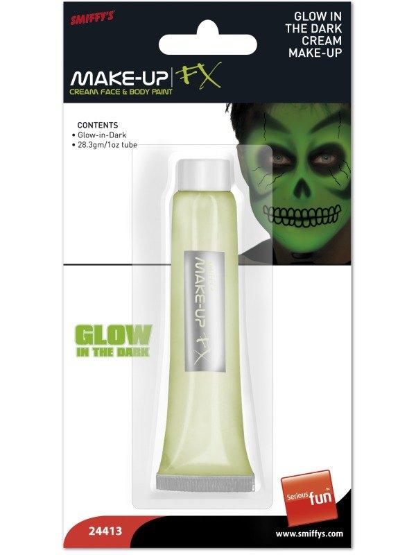 Glow in the Dark Cream Makeup