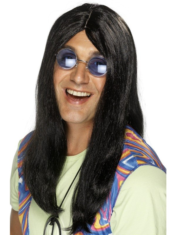 Neil Hippy Wig Black