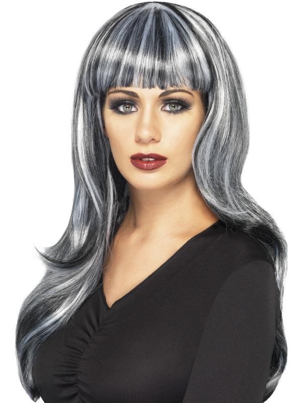 Sinister Siren Wig Grey