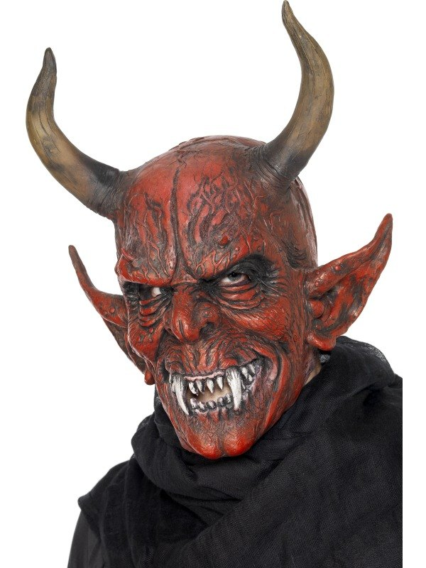 Demon Devil Fancy Dress Mask