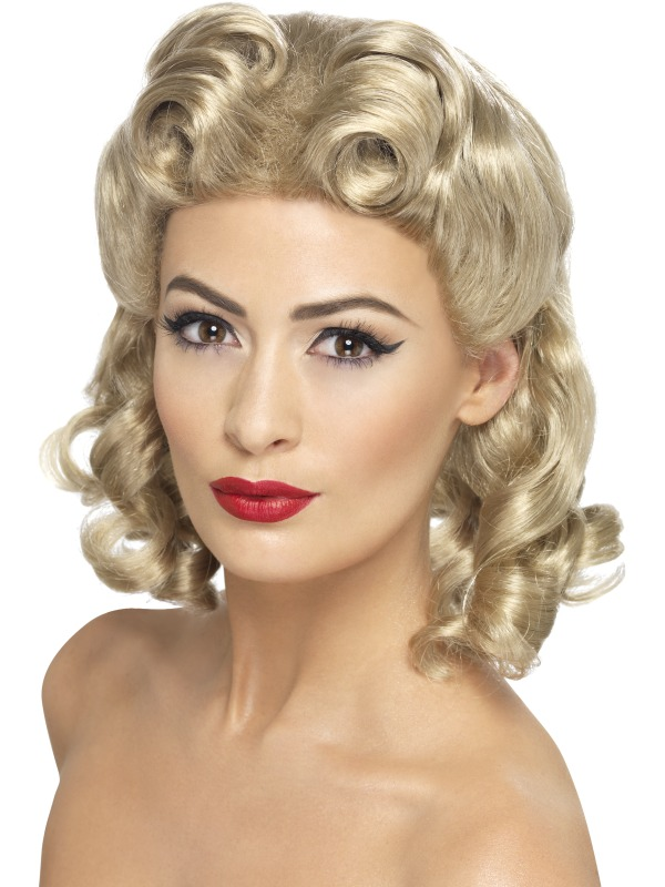 40's Sweetheart Wig