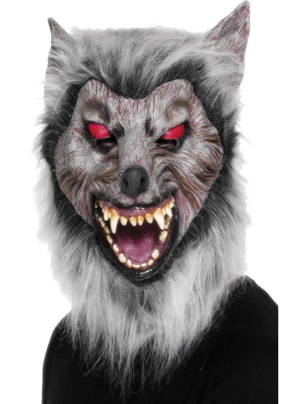 Wolf Prowler Fancy Dress Mask