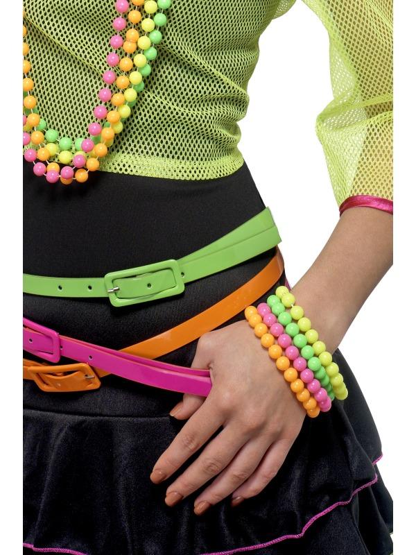 Beaded Bracelets, Neon