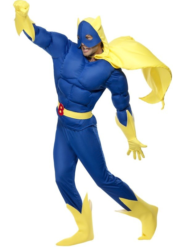 Banana Man Fancy Dress Costume