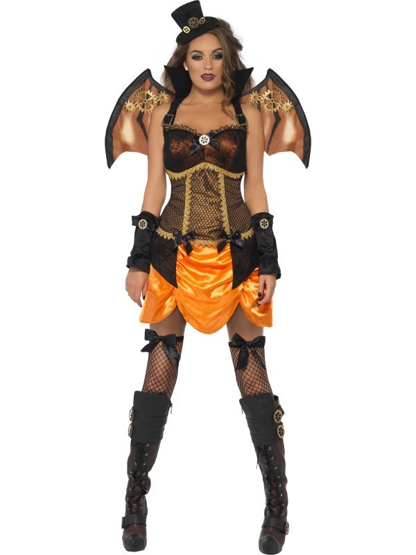 Steampunk Fancy Dress Costume Victorian Bat