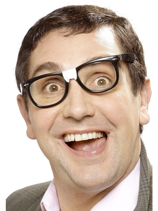 Geek Specs with Plaster