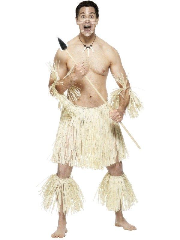 Zulu Warrior Fancy Dress Costume