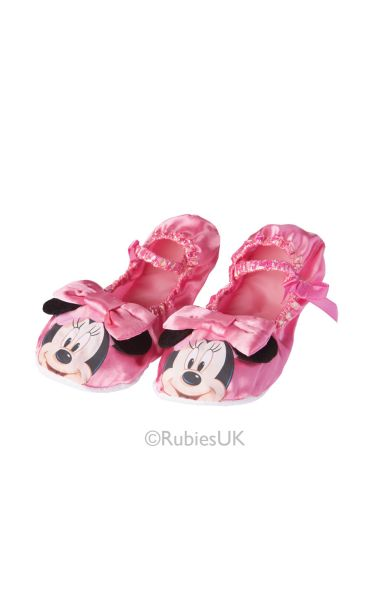 Minnie Mouse Pink Ballet Pumps