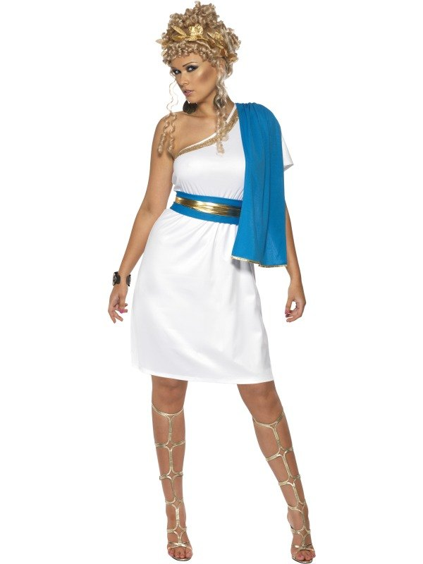 Roman Beauty Fancy Dress Costume