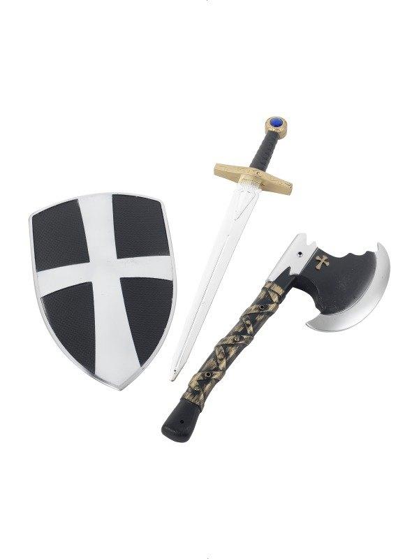 Kids 3 Piece Crusader Set