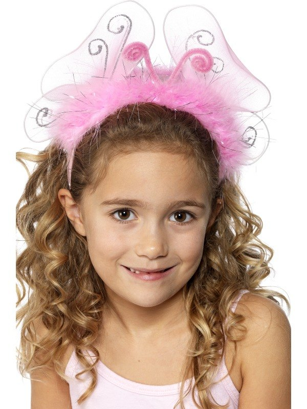 Girls Pink Flashing Headband