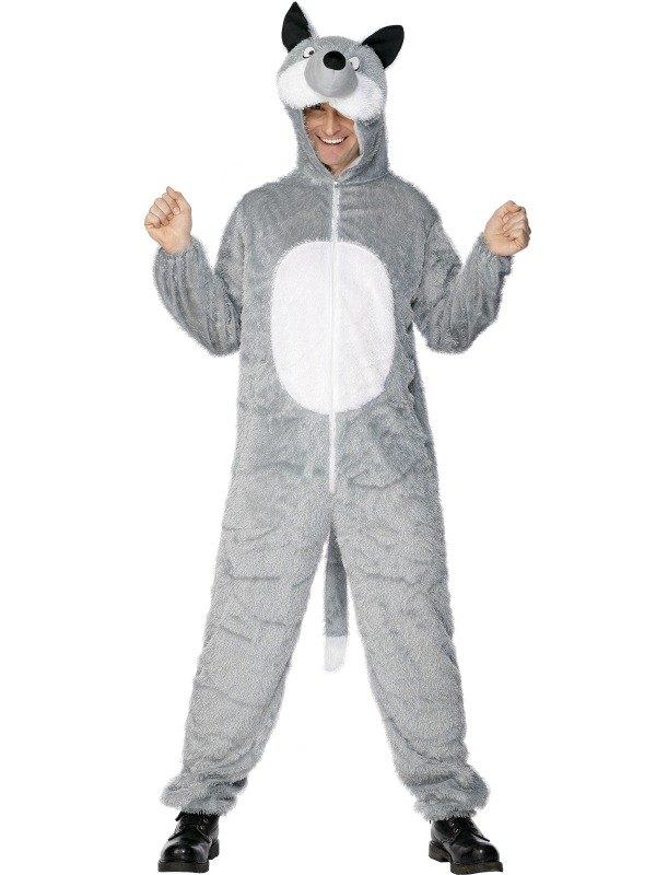 Wolf Fancy Dress Costume Adult