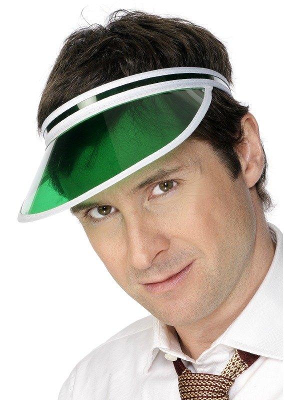 Poker Visor Green