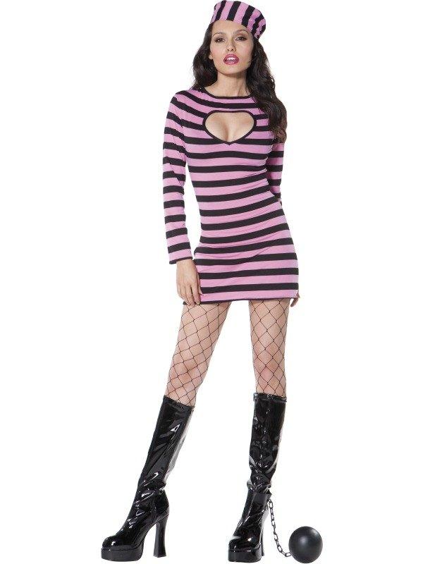 Convict Costume Pink