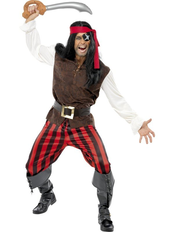 Pirate Ship Mate Fancy Dress Costume