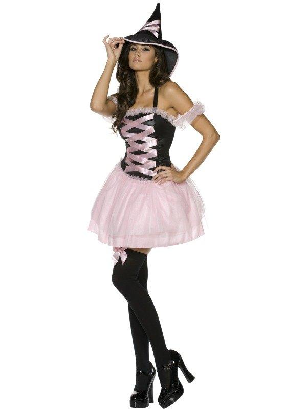 Pretty Witch Fancy Dress Costume
