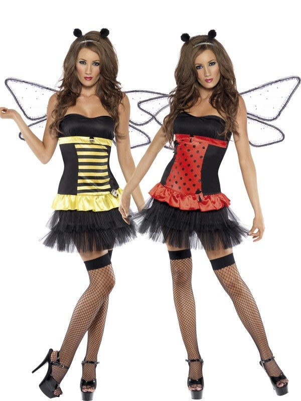 Reversible Bumble Bee / Lady Bug
