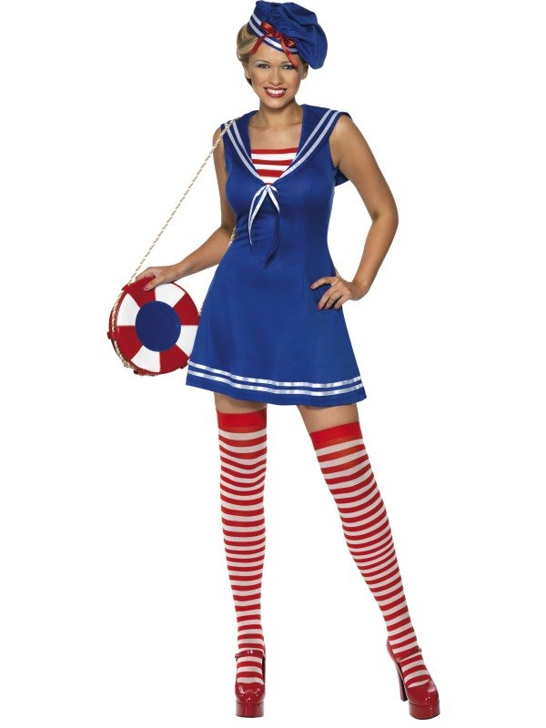 Sailor Cutie Fancy Dress Costume